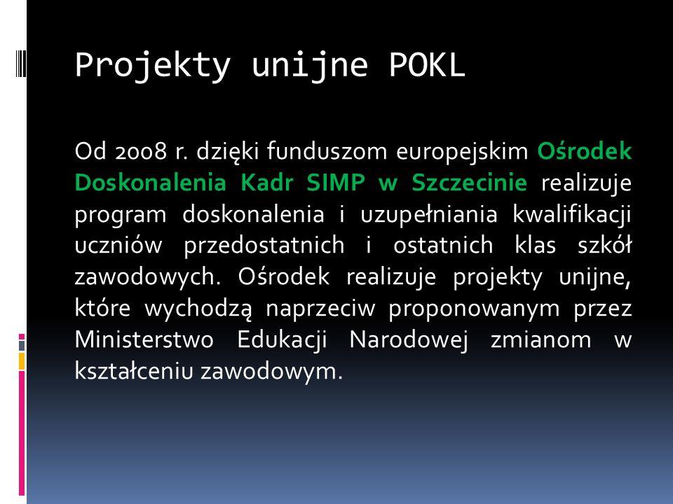 Projekty unijne POKL