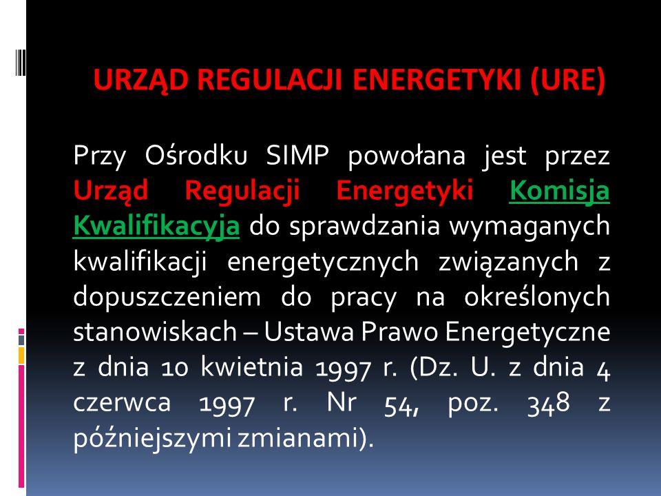 URZĄD REGULACJI ENERGETYKI (URE)