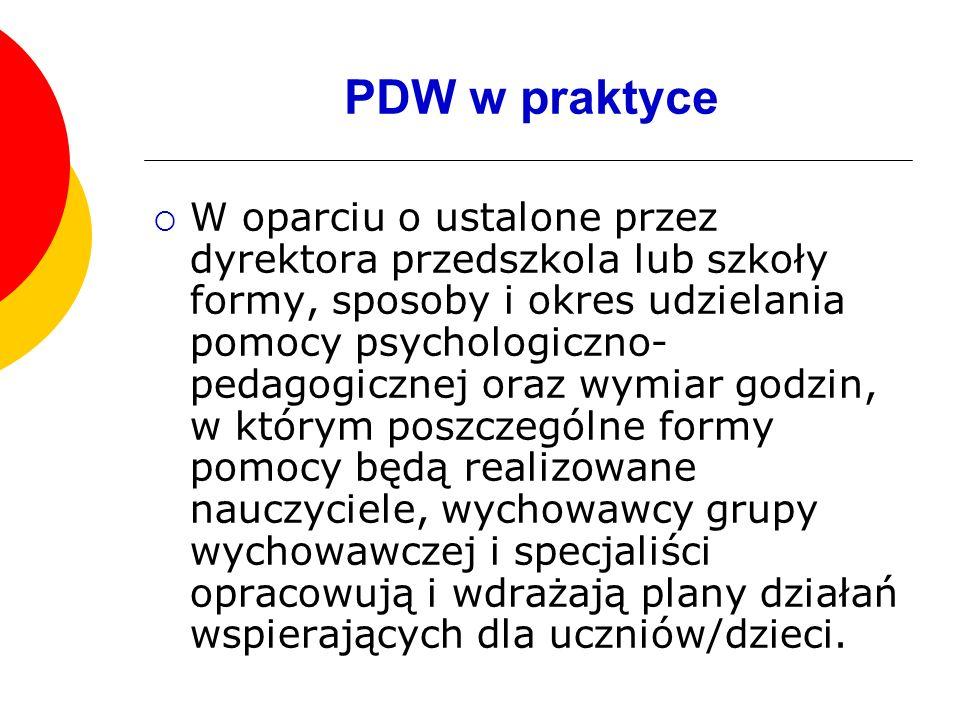 PDW w praktyce