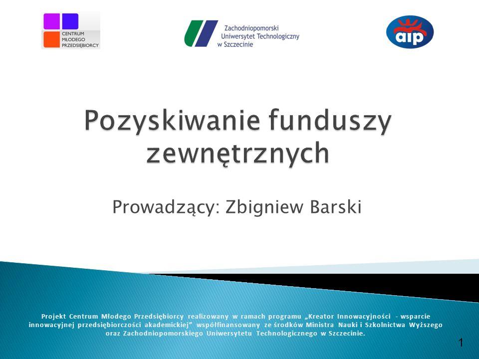 Pozyskiwanie funduszy zewnętrznych