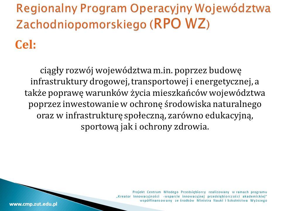 Regionalny Program Operacyjny Województwa Zachodniopomorskiego (RPO WZ)
