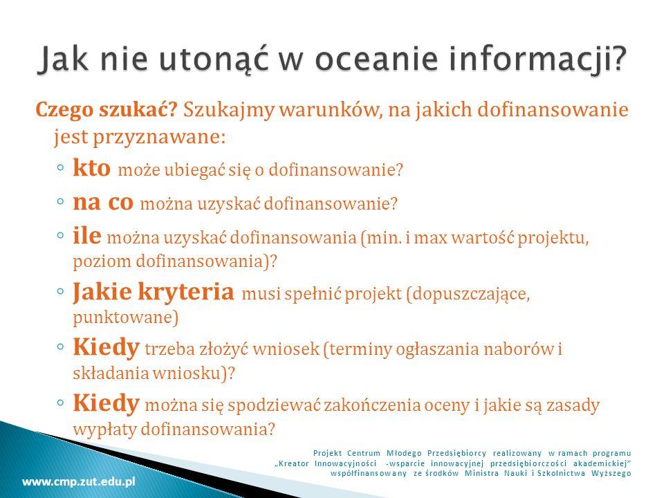 Jak nie utonąć w oceanie informacji