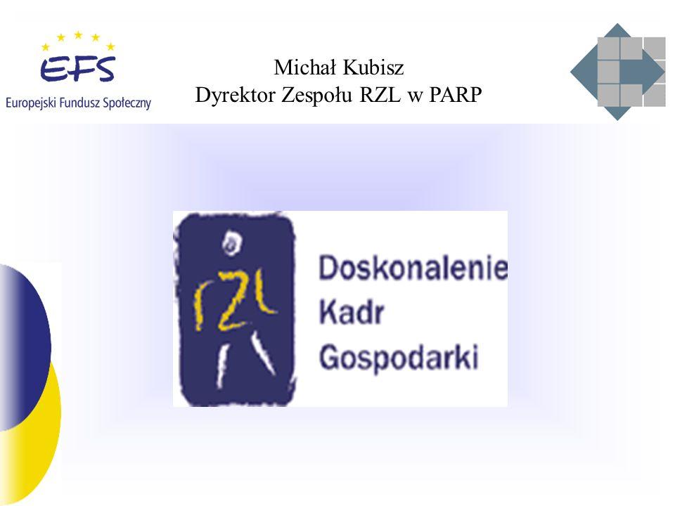 Dyrektor Zespołu RZL w PARP