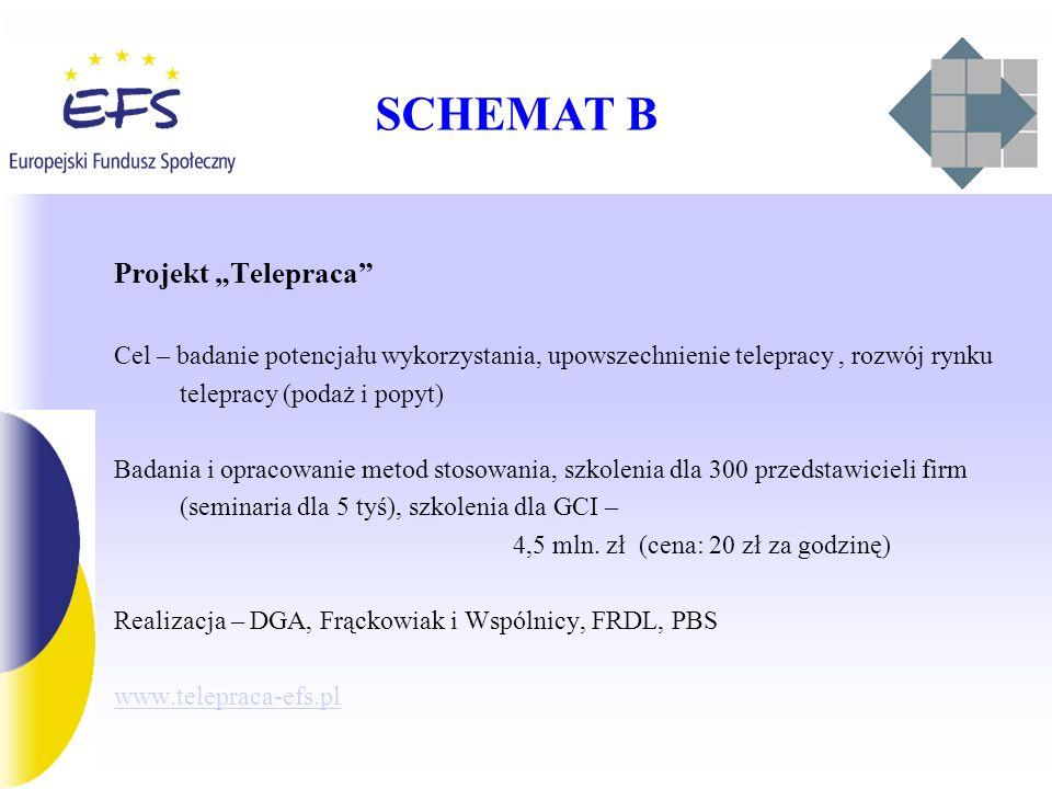 "SCHEMAT B Projekt ""Telepraca"