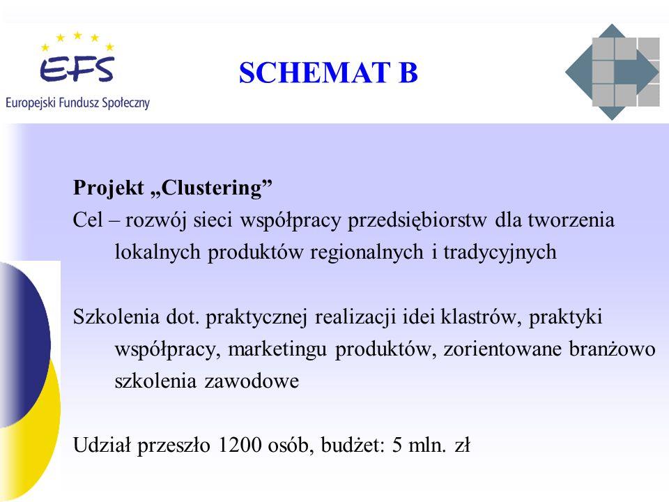"SCHEMAT B Projekt ""Clustering"