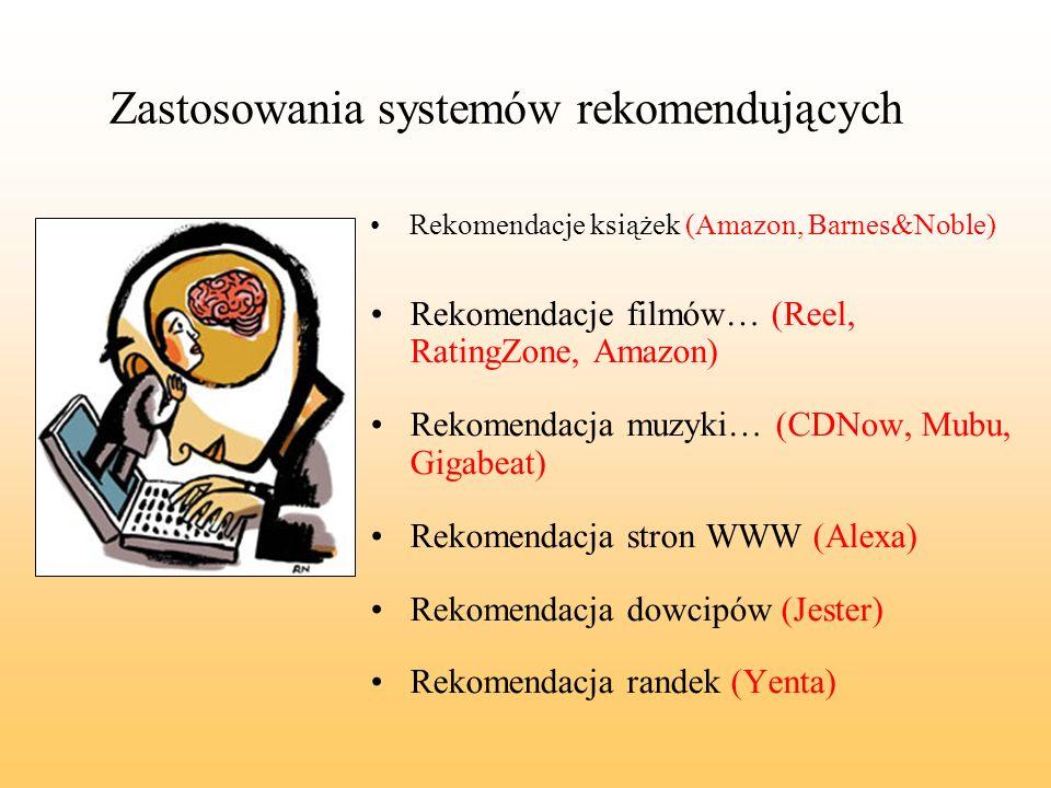 Zastosowania systemów rekomendujących