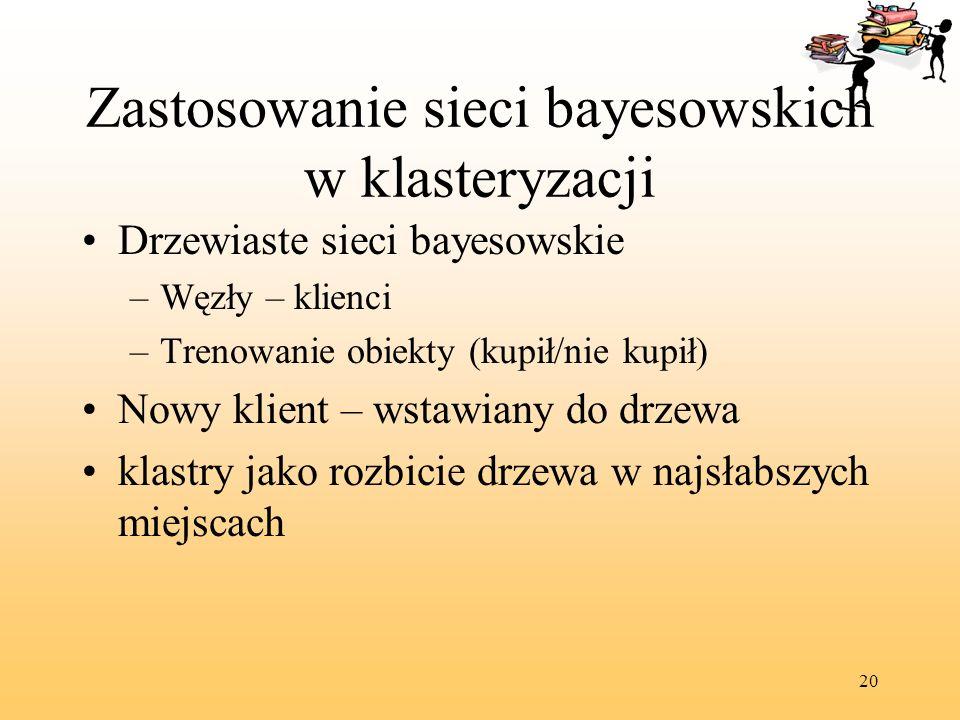 Zastosowanie sieci bayesowskich w klasteryzacji