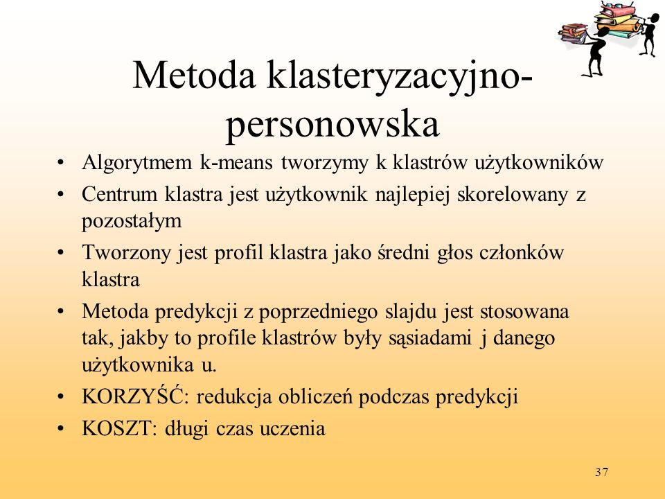 Metoda klasteryzacyjno-personowska