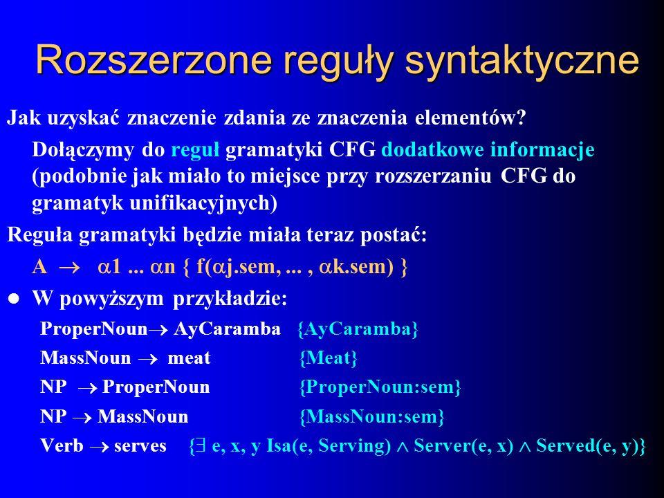 Rozszerzone reguły syntaktyczne