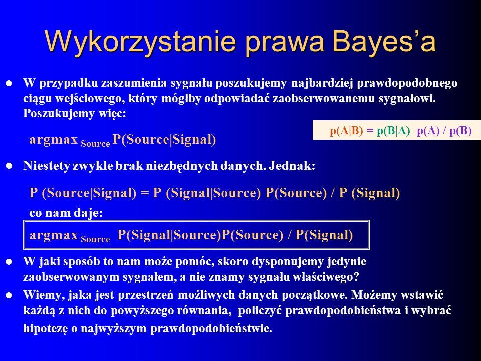 Wykorzystanie prawa Bayes'a