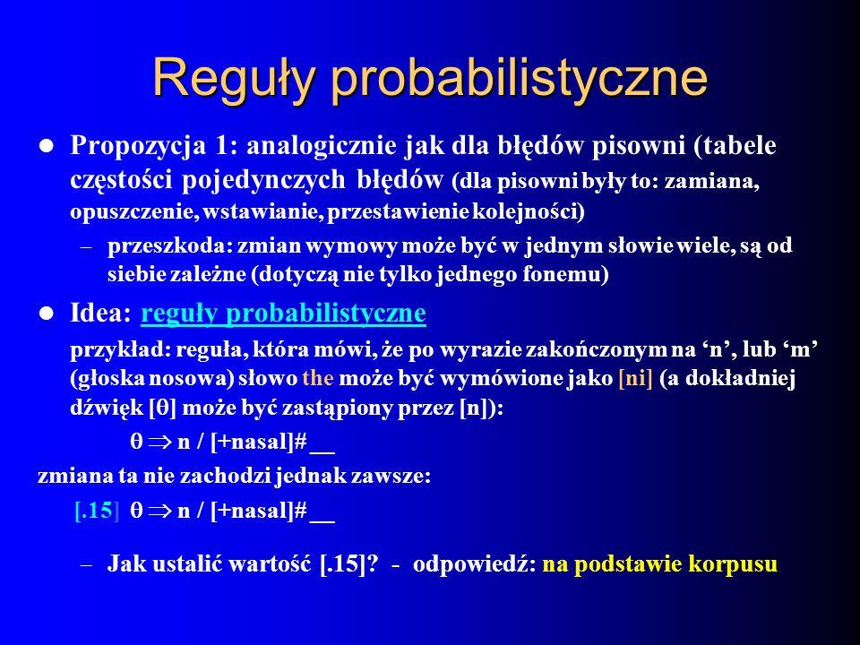Reguły probabilistyczne