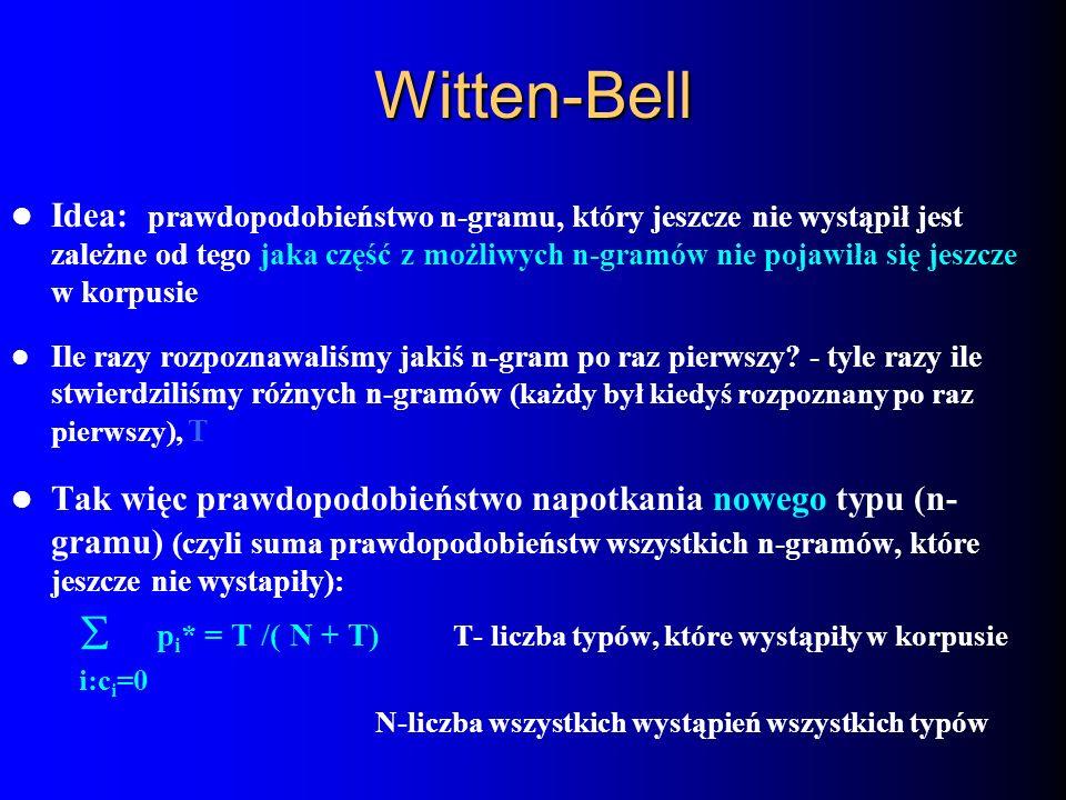 Witten-Bell