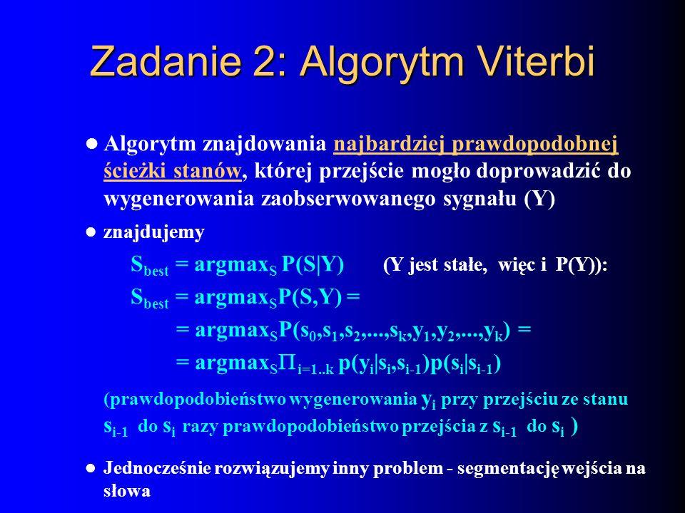 Zadanie 2: Algorytm Viterbi