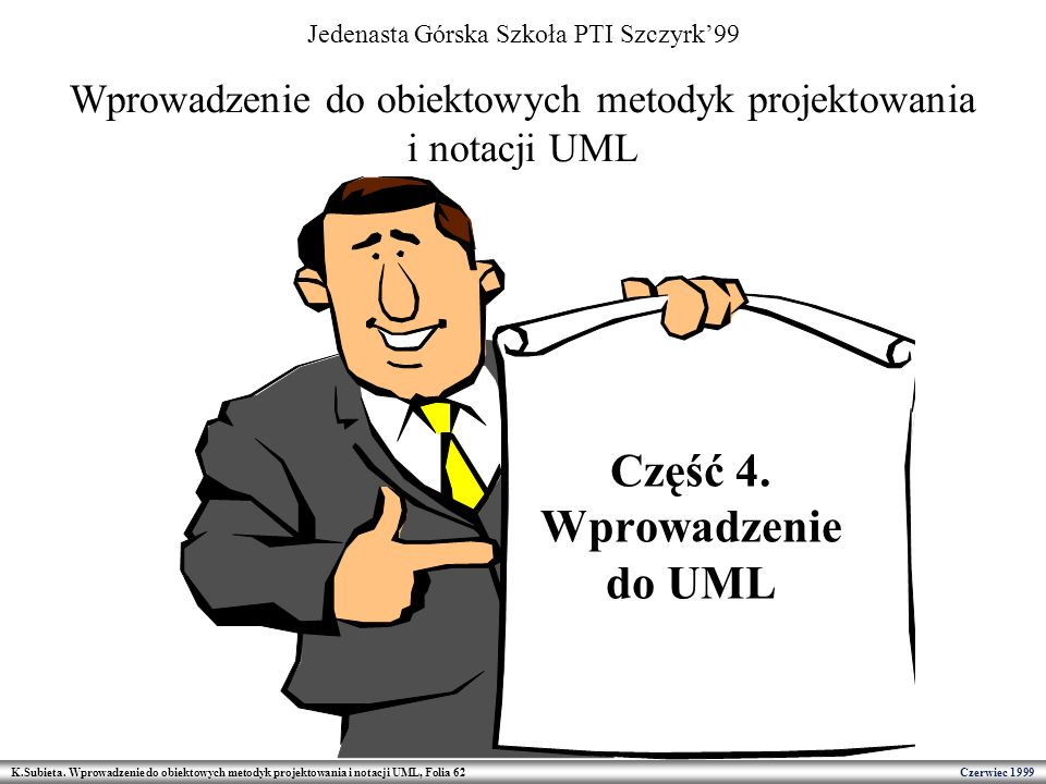 Część 4. Wprowadzenie do UML