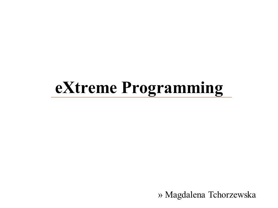 eXtreme Programming » Magdalena Tchorzewska