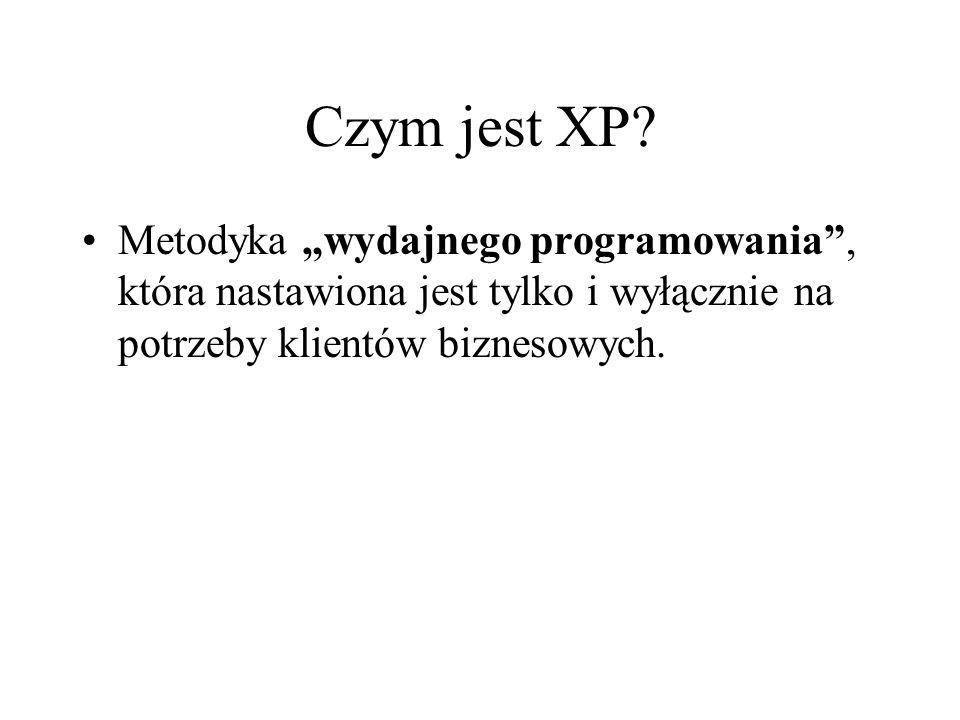 Czym jest XP.