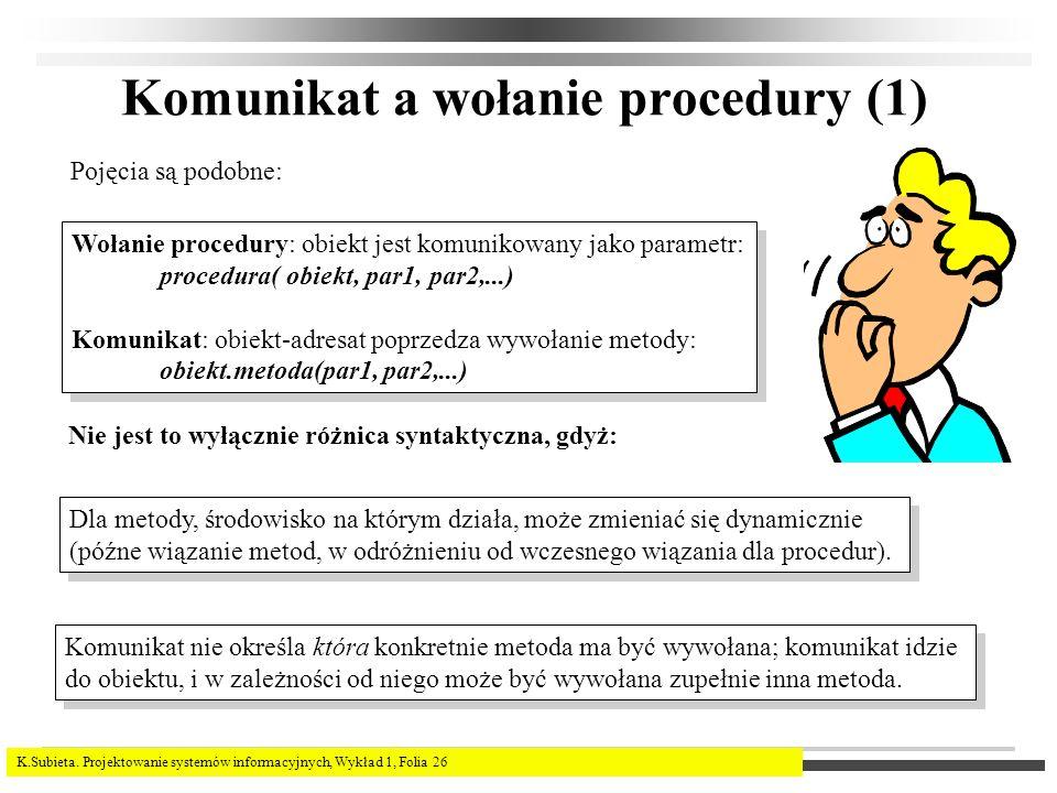 Komunikat a wołanie procedury (1)