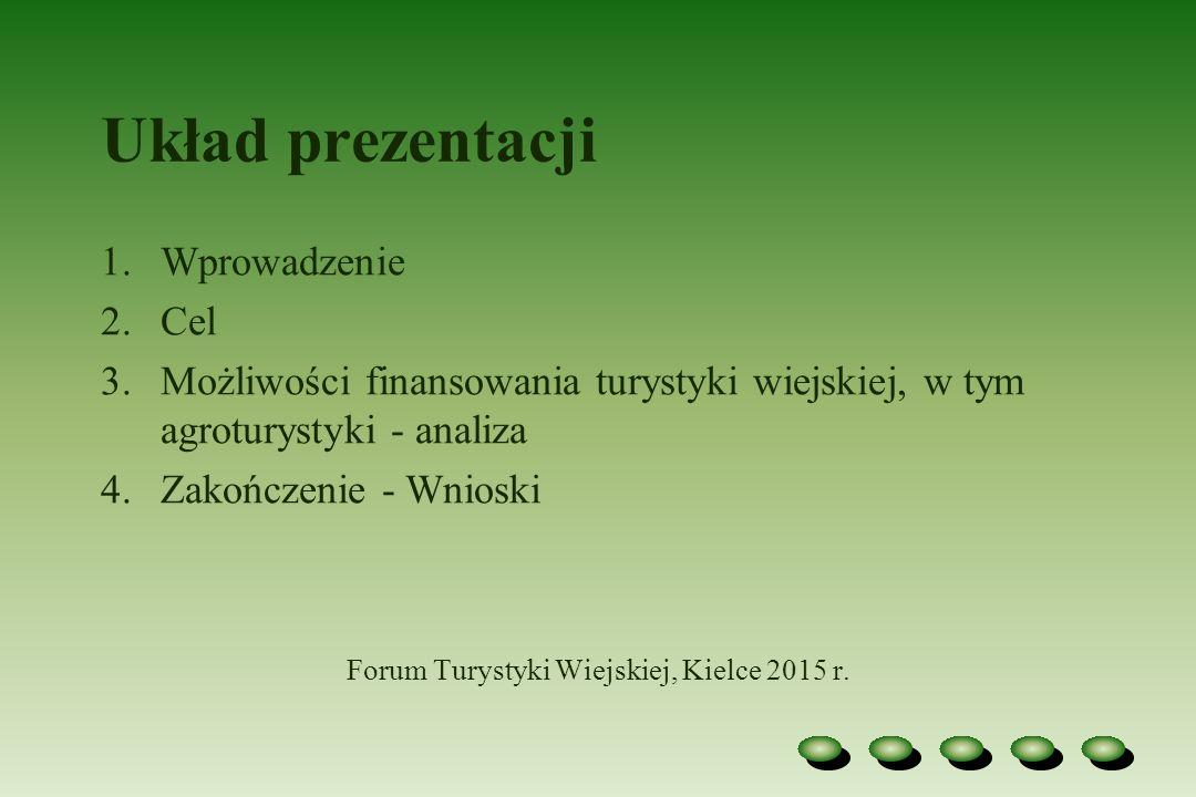 Forum Turystyki Wiejskiej, Kielce 2015 r.