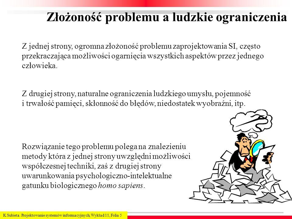 Złożoność problemu a ludzkie ograniczenia