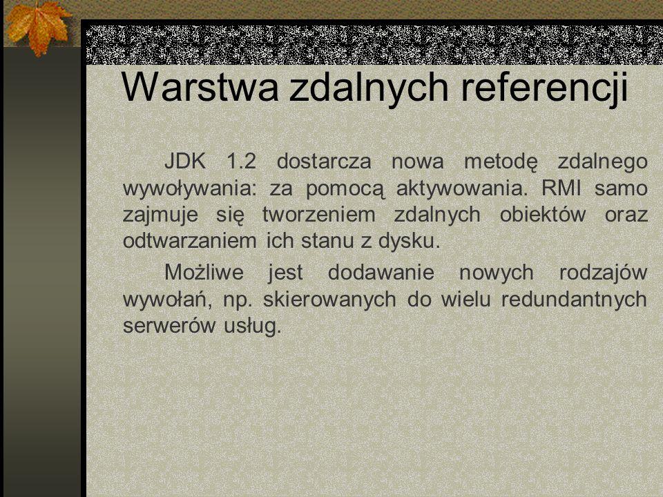 Warstwa zdalnych referencji