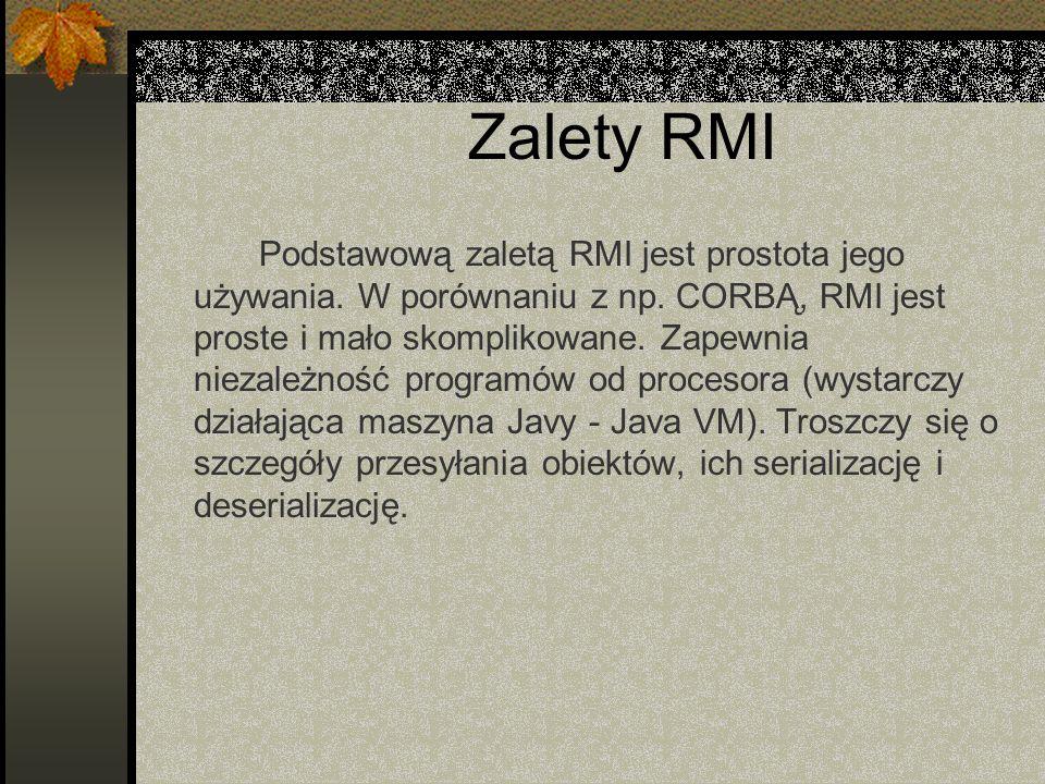 Zalety RMI