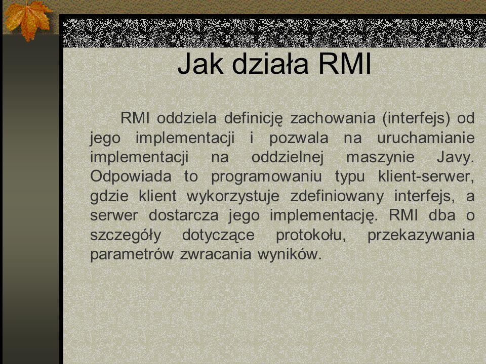 Jak działa RMI