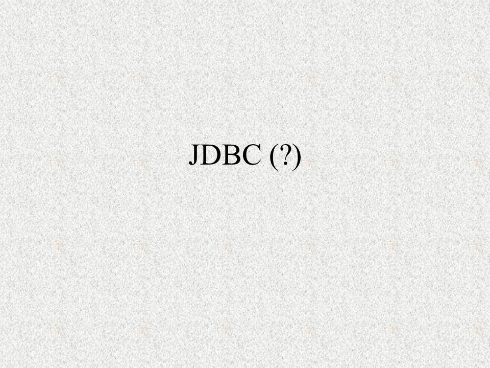 JDBC ( )