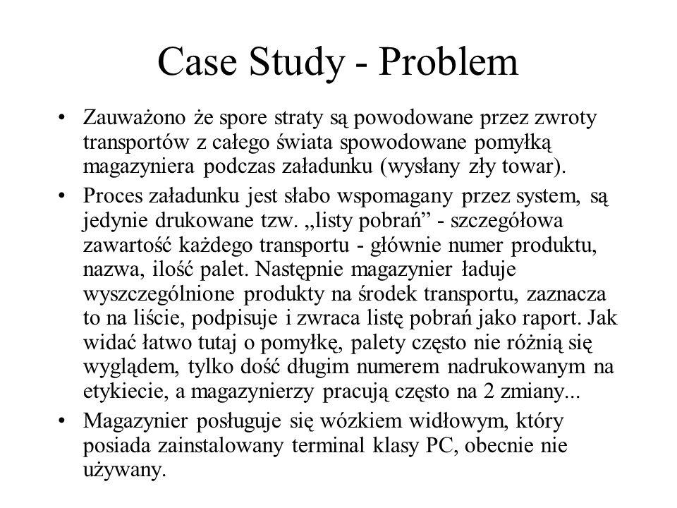 Case Study - Problem