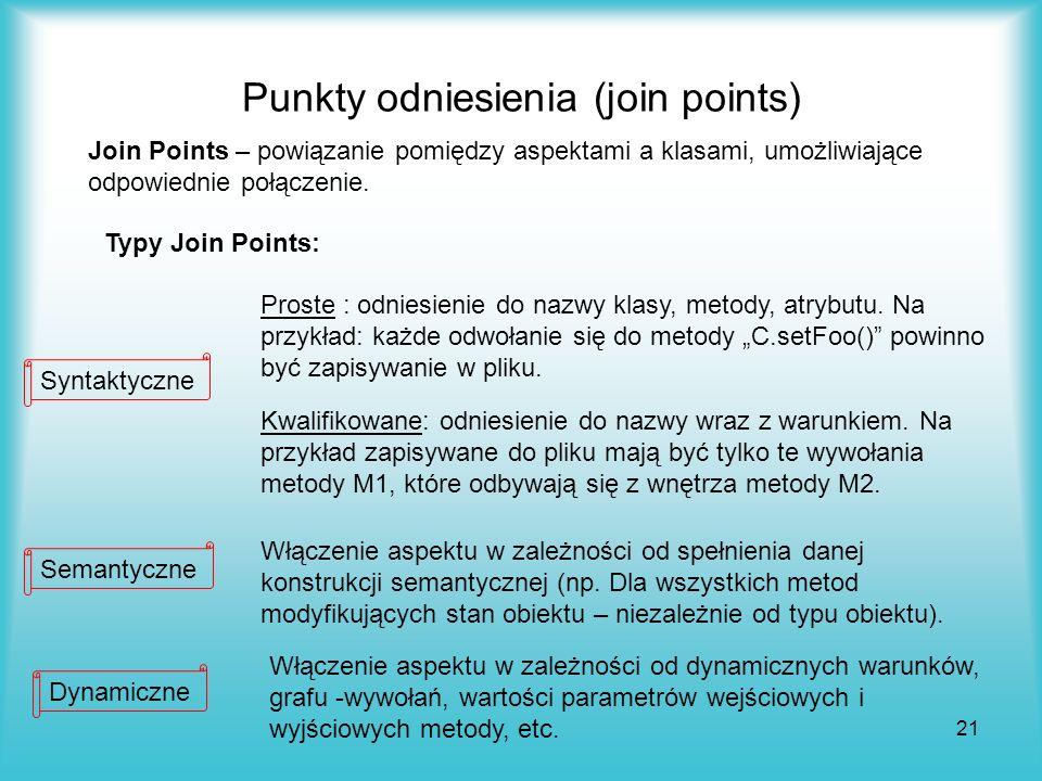 Punkty odniesienia (join points)