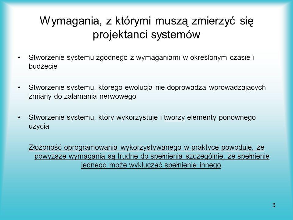 Wymagania, z którymi muszą zmierzyć się projektanci systemów