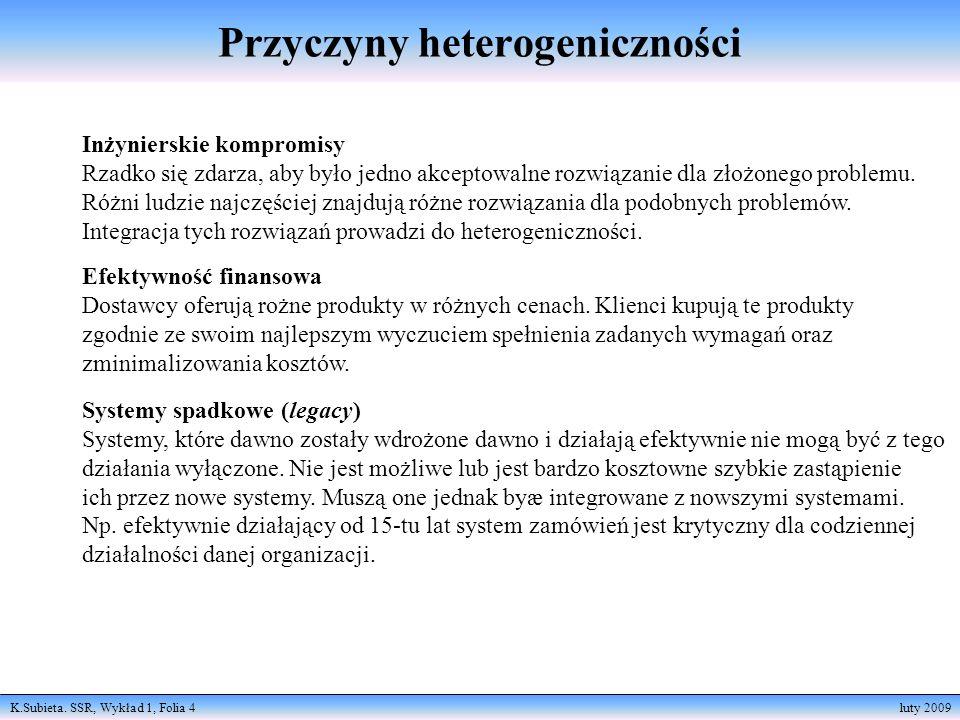 Przyczyny heterogeniczności