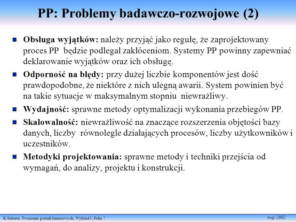 PP: Problemy badawczo-rozwojowe (2)