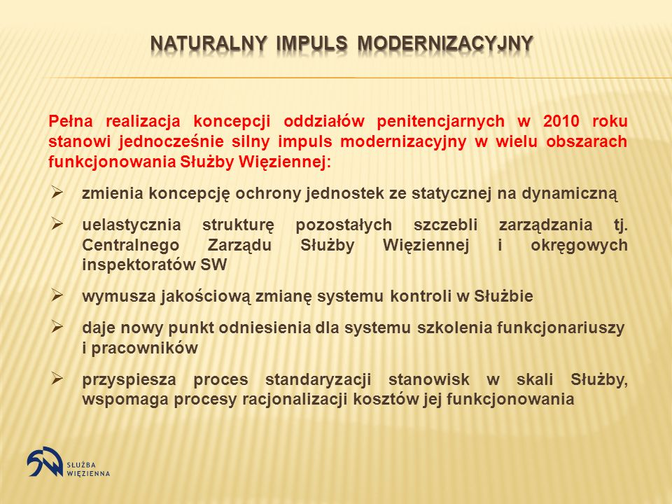 Naturalny impuls modernizacyjny