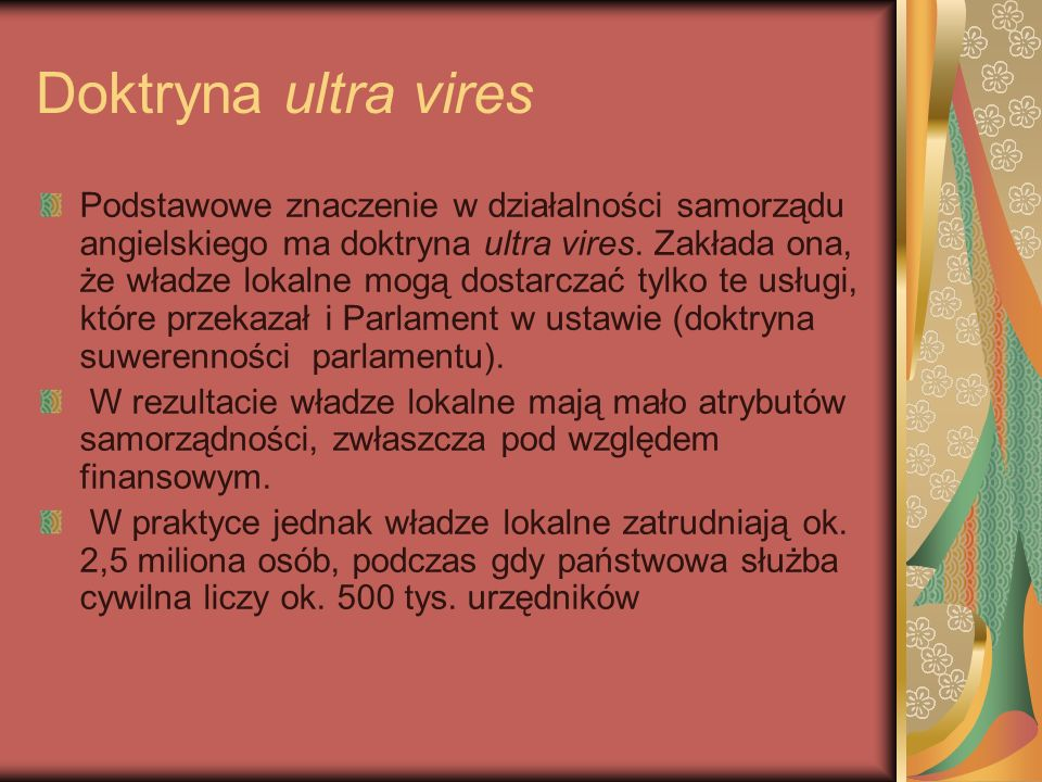 Doktryna ultra vires