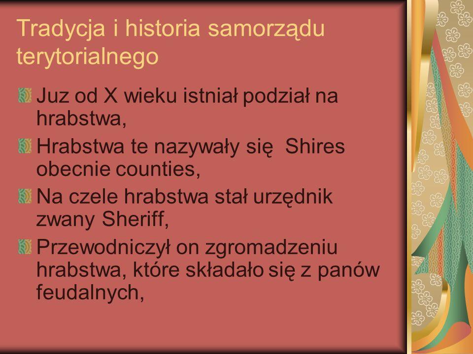 Tradycja i historia samorządu terytorialnego
