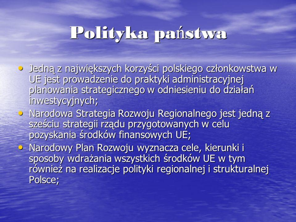 Polityka państwa