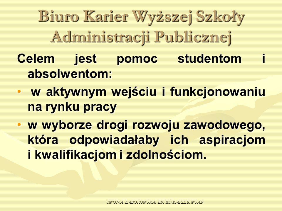 Biuro Karier Wyższej Szkoły Administracji Publicznej