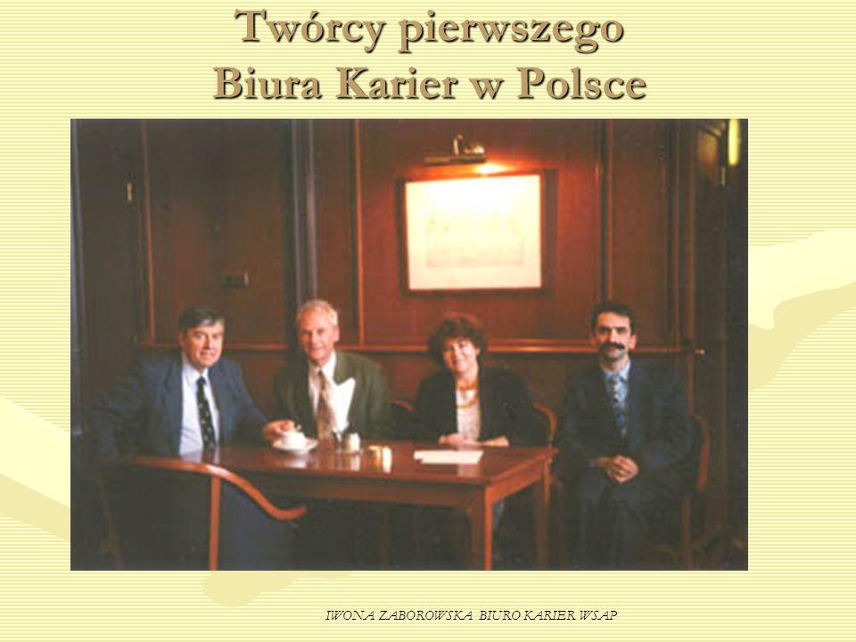 Twórcy pierwszego Biura Karier w Polsce
