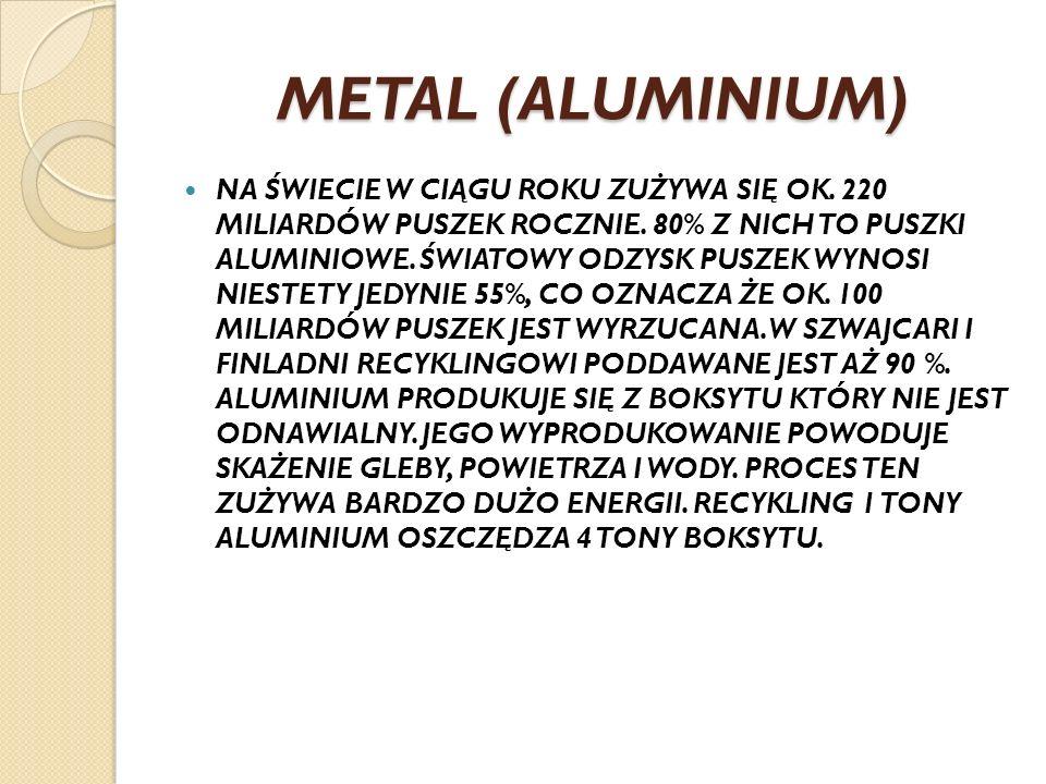 METAL (ALUMINIUM)