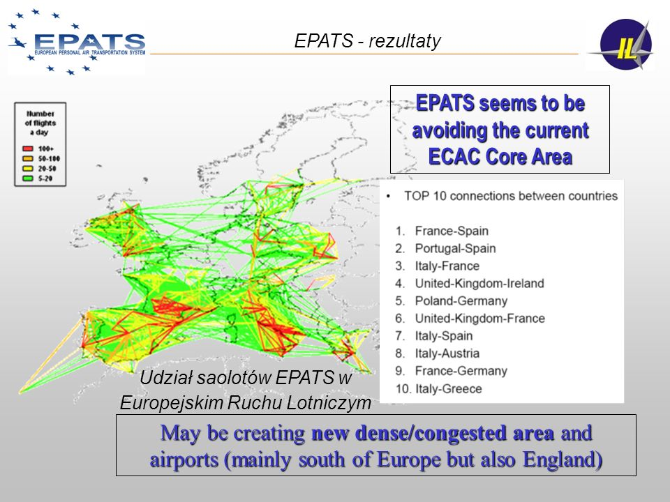EPATS seems to be avoiding the current ECAC Core Area