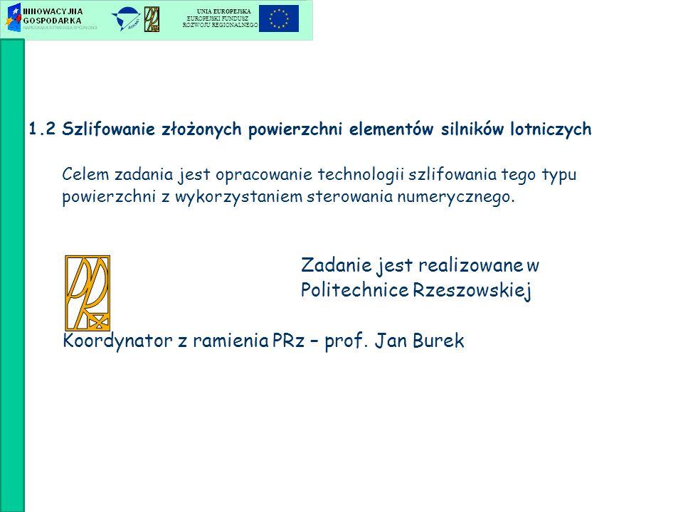 Zadanie jest realizowane w Politechnice Rzeszowskiej