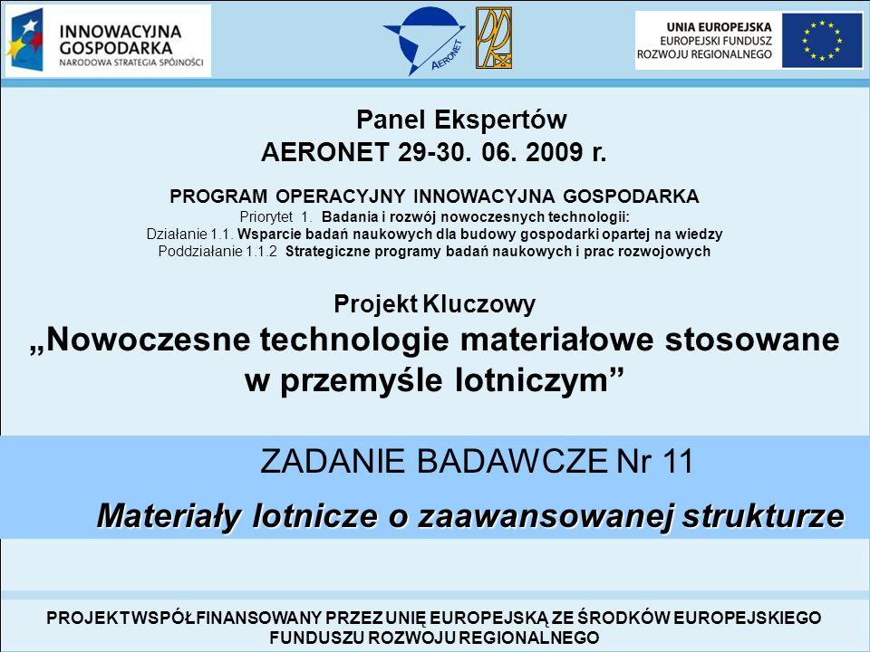 """""""Nowoczesne technologie materiałowe stosowane w przemyśle lotniczym"""