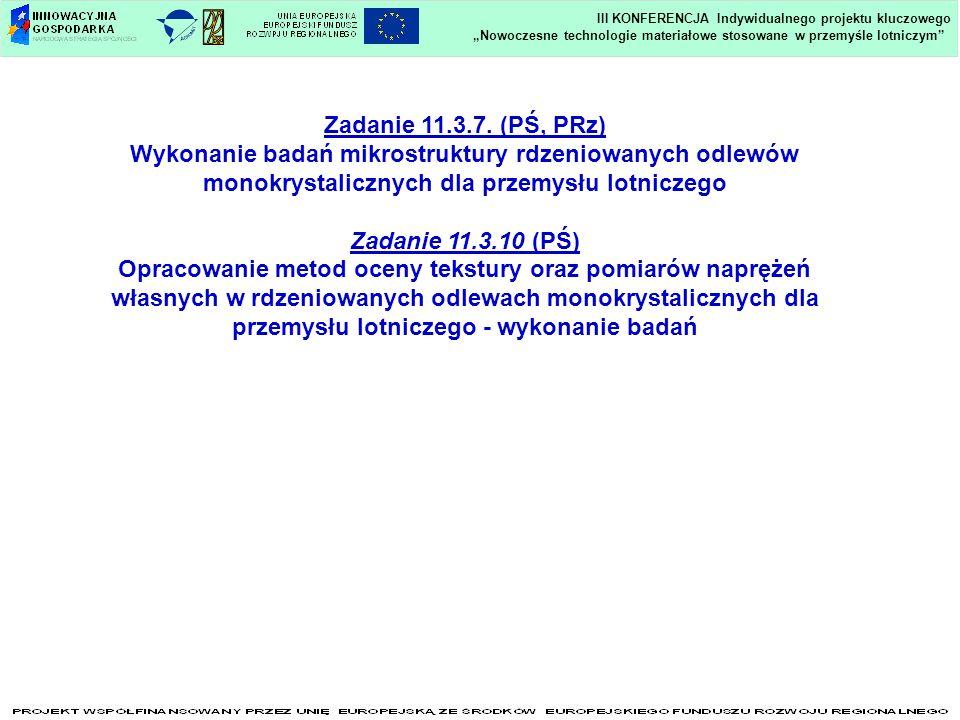 Zadanie 11.3.7. (PŚ, PRz) Zadanie 11.3.10 (PŚ)