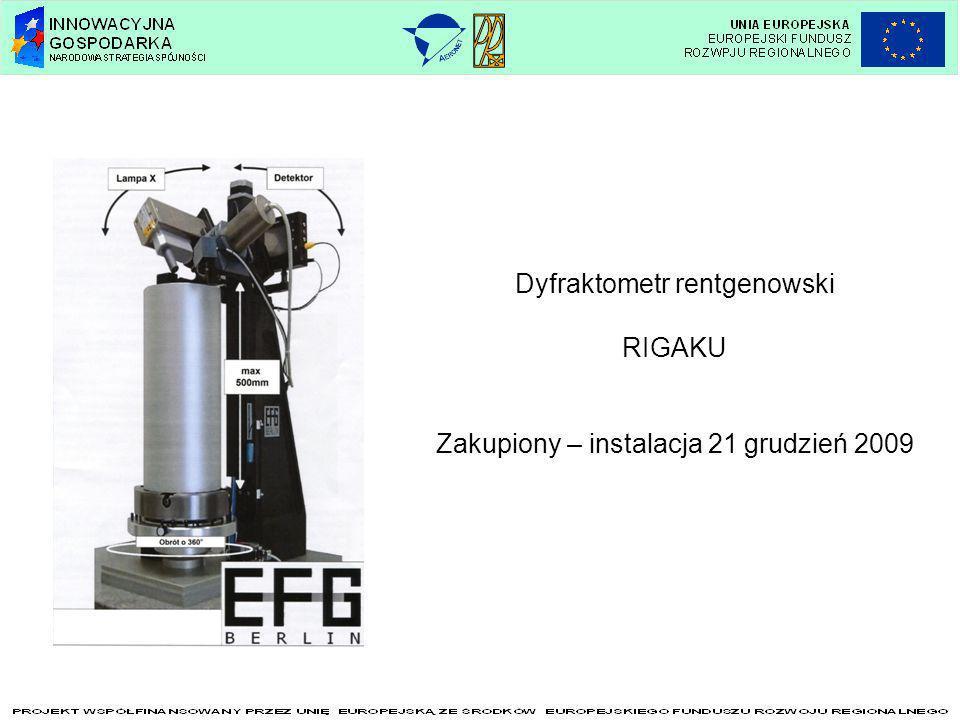 Dyfraktometr rentgenowski RIGAKU