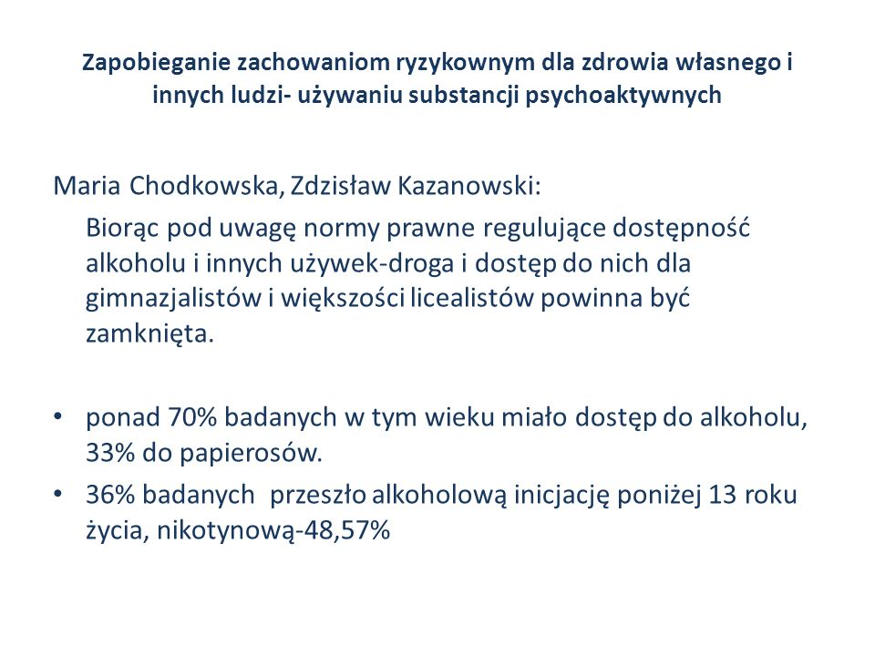 Maria Chodkowska, Zdzisław Kazanowski: