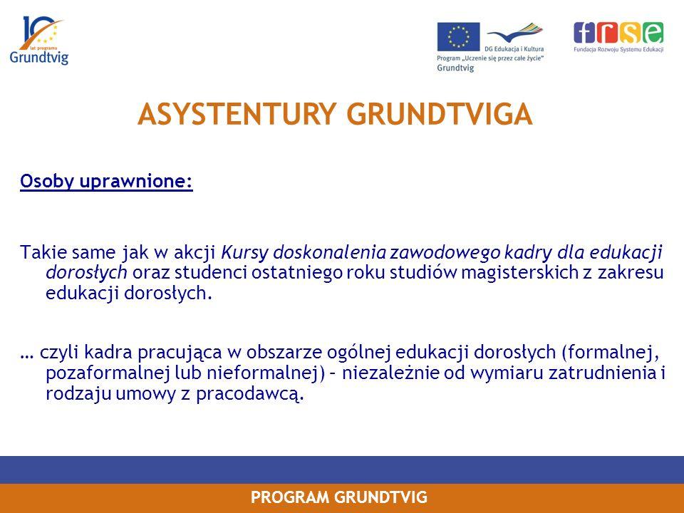 ASYSTENTURY GRUNDTVIGA