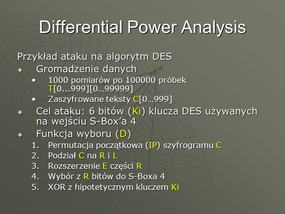 Differential Power Analysis