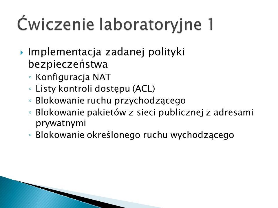 Ćwiczenie laboratoryjne 1