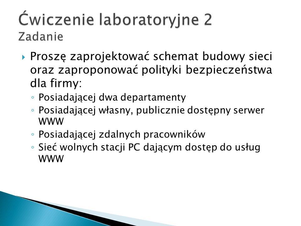 Ćwiczenie laboratoryjne 2 Zadanie