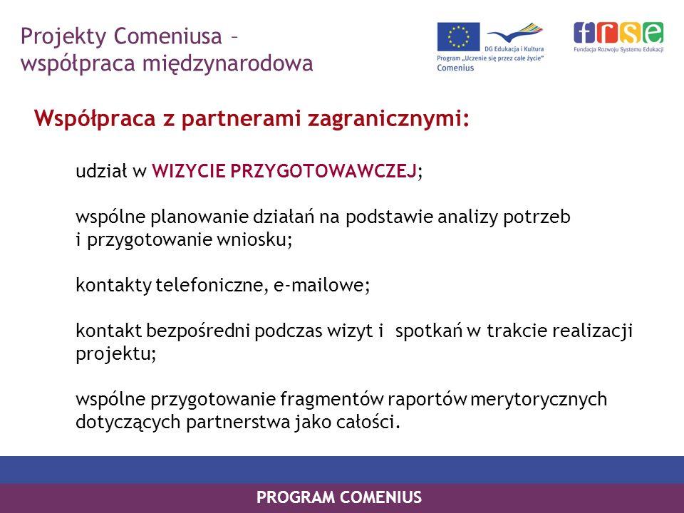 Projekty Comeniusa – współpraca międzynarodowa